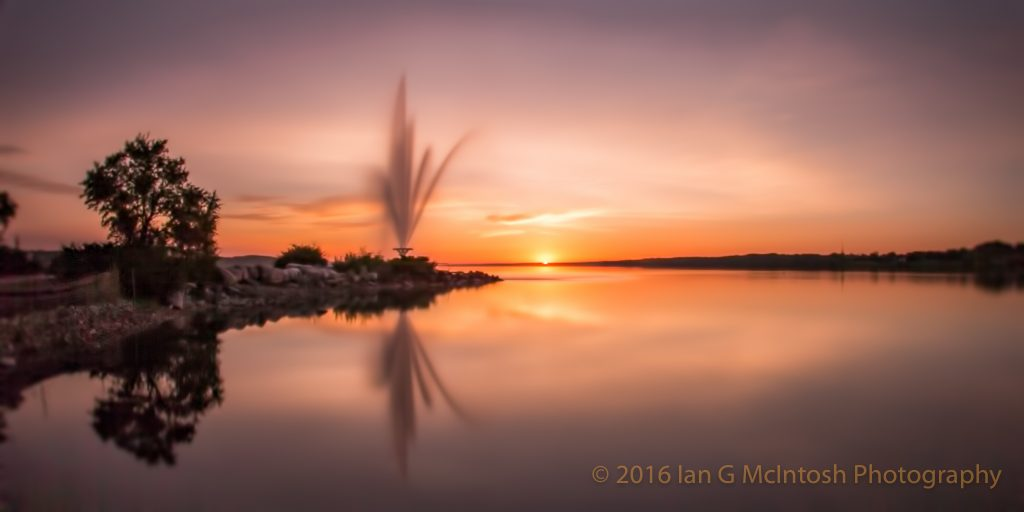 Barrie Fountain Sunrise Pastel.jpg