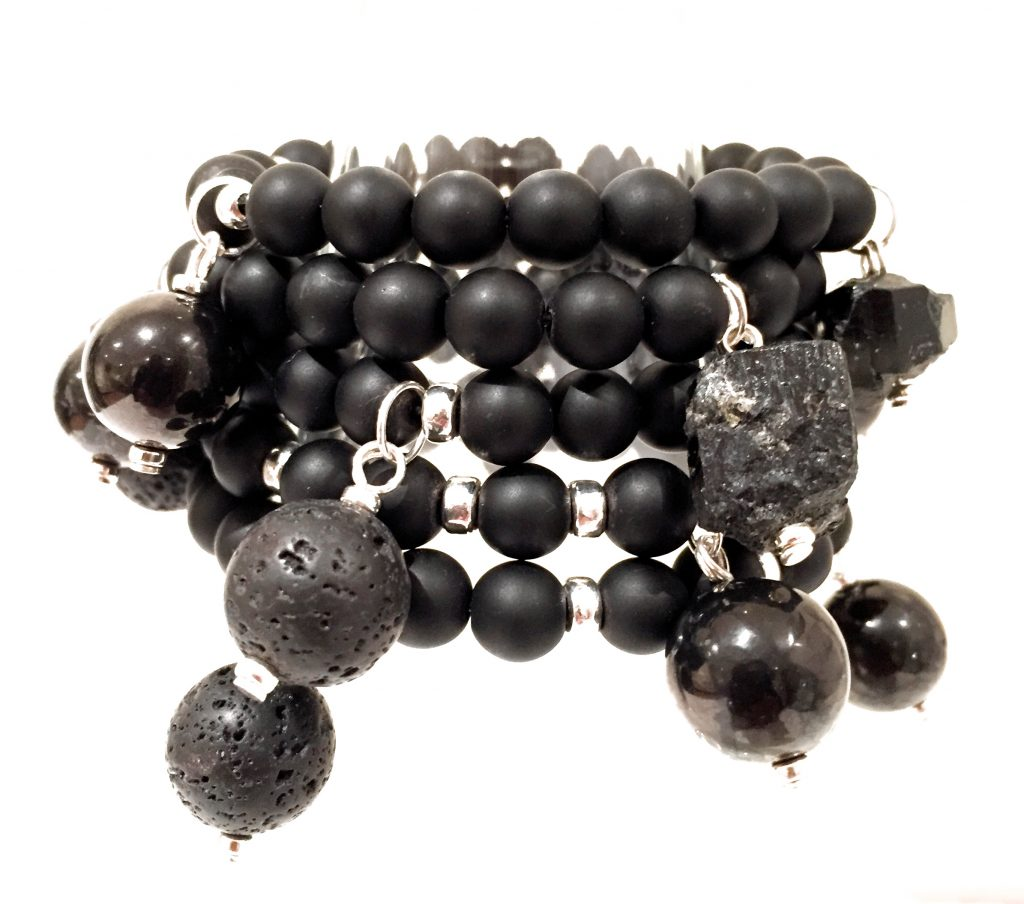 GAIA bracelet stack of 5