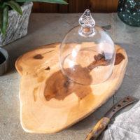 Handblown Glass Cheese Dome.jpg