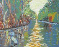 Alone, acrylic on canvas 16x20, $520.JPG