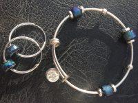Bangle & Hoop Earring Set