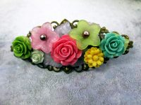 ADesigns #6G1-Handcrafted Hair Clip Polymer clay flowers.jpg