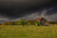 Fall Farm House