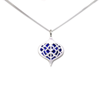 Sterling Silver Saxon Pendant with Lapis inlay.png