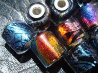 Custom Glass Beads : Large Core