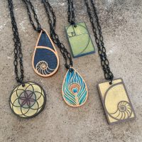 Pendant Necklaces 1 - twisted spiral studios - katharine kennie.JPG
