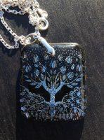 Tree of Life & Love : Custom Aubrey Beardsley Design Reproduction