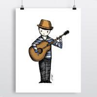 Print - Music Man