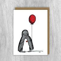 Card - Penguin's Birthday