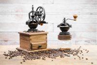 Walnut Coffee Grinder & Mason Jar Coffee Grinder.jpg