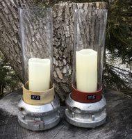 Firehose Candleholders Large