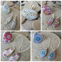 mixed pendants, rings and earrings