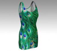 Peacock Bodycon Dress Front.jpg